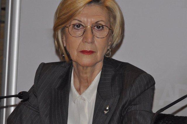 La portavoz de UPyD, Rosa Díez.