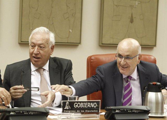 José Manuel García Margallo y Josep Antoni Duran i LLeida  (Archivo)
