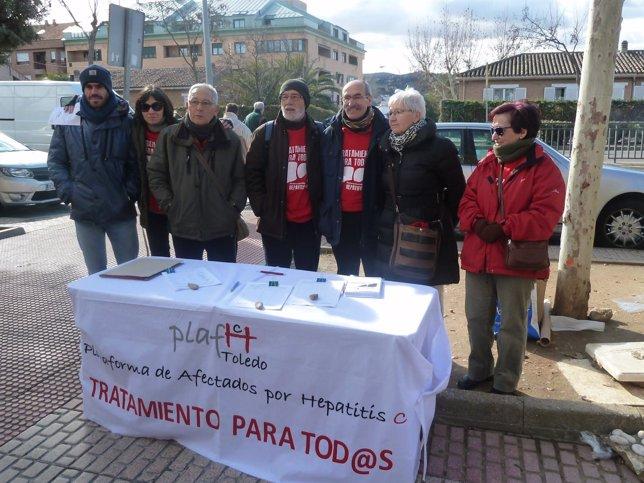 Plataforma de Afectados por la Hepatitis C de Toledo