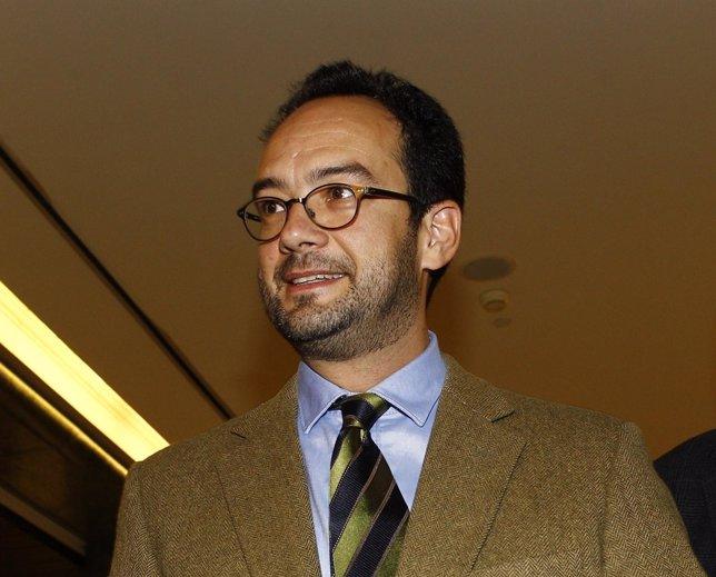 Antonio Hernando, portavoz del Grupo Socialista