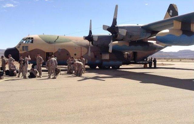 Militares españoles en el Sahel
