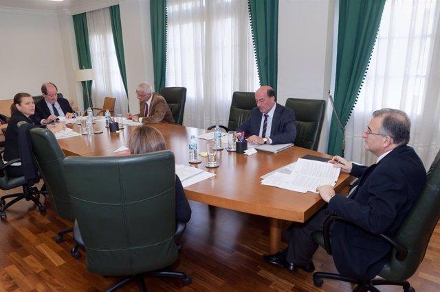 Reunión de la Audiencia de Cuentas