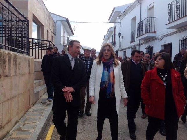 Susana Díaz en Serrato
