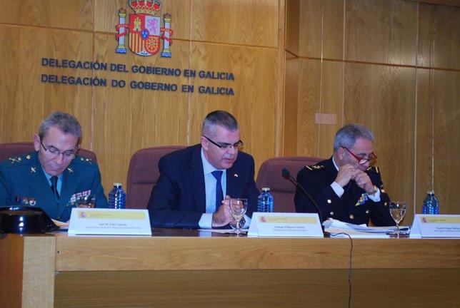 Balance de criminalidad Galicia 2014