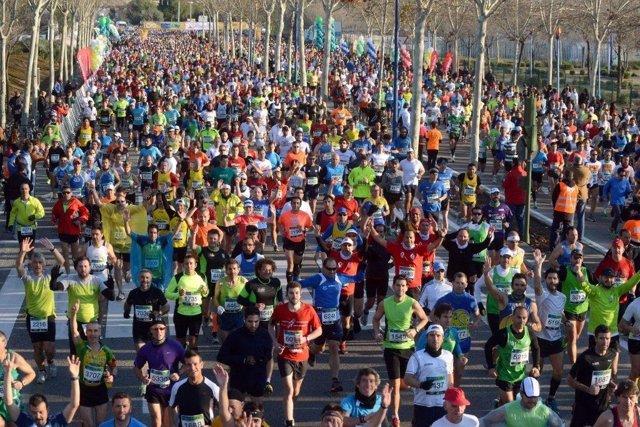 El Maratón de Sevilla