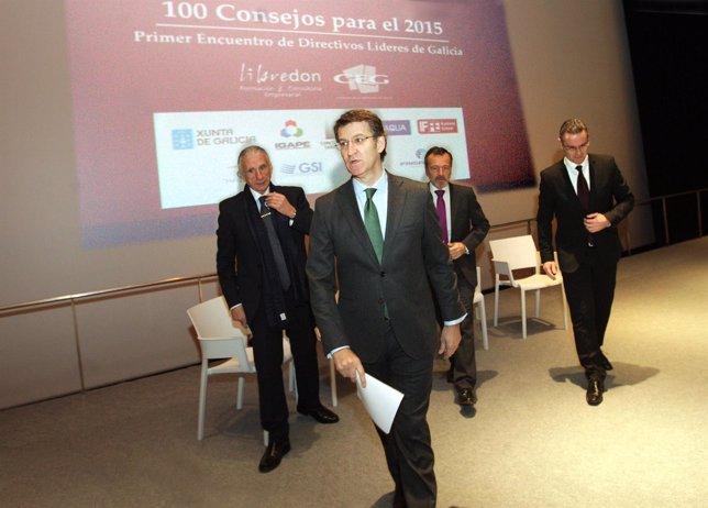 O presidente da Xunta, Alberto Núñez Feijóo, inaugurará o Encontro de Directivos