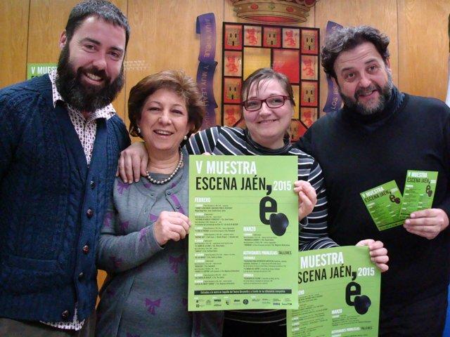 Presentación de la Muestra Escena Jaén
