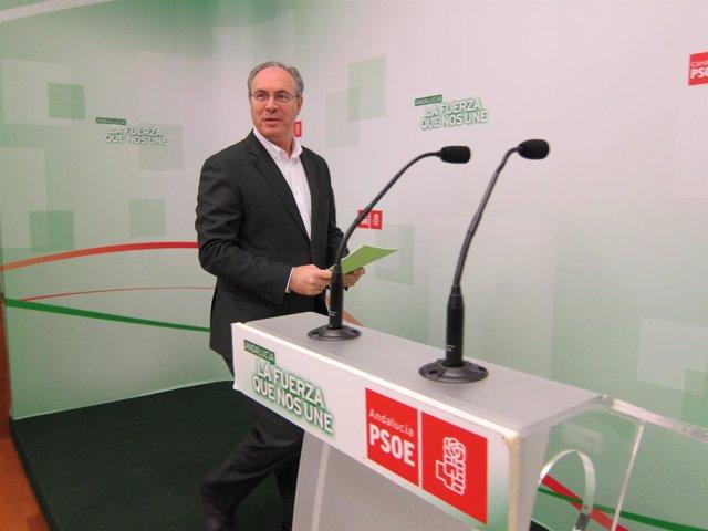 El secretario general del PSOE de Córdoba, Juan Pablo Durán