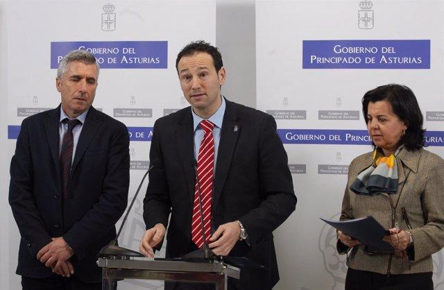 Rueda de prensa tras la reunión del Consejo de Gobierno
