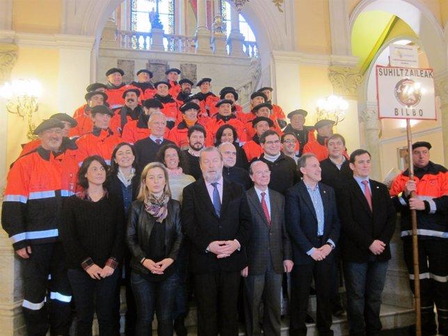 Coro de Bomberos de Bilbao.