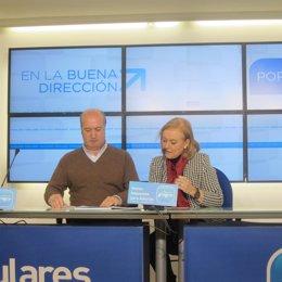Luis Venta y Mercedes Fernández