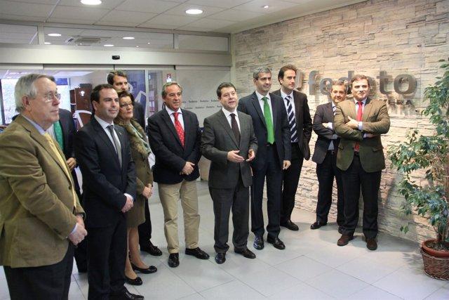 Fotos García Page En Sede FEDETO En Talavera De La Reina I