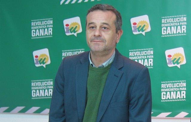 José Antonio Castro, coordinador de IULV-CA Málaga