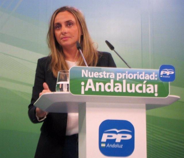 La vicesecretaria del PP-A Marifrán Carazo