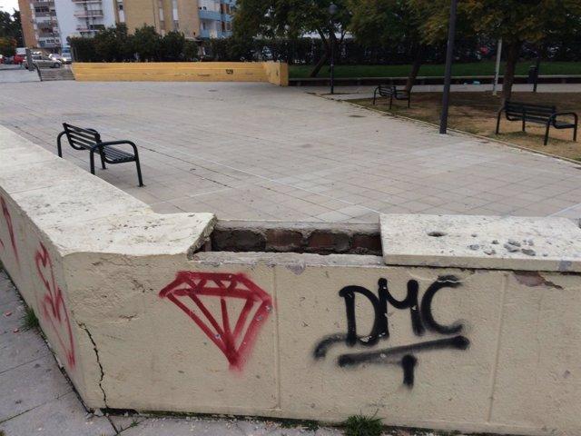 Estado del parque del Turruñuelo.