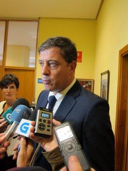 José Ramón Gómez  Besteiro en declaraciones a los medios