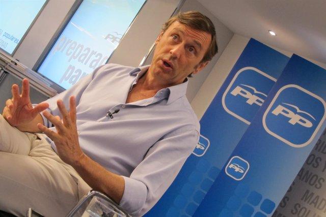Rafael Hernando, portavoz adjunto del Grupo Popular en el Congreso