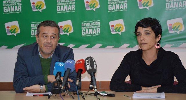 José Antonio Castro y Antonia Morillas, IU, IULV-CA, Málaga