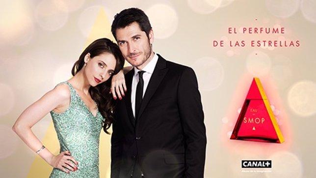 Leticia Dolera y el periodista de TVE Carlos del Amor