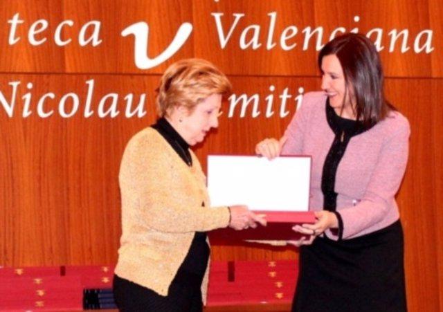 Acto conmemorativo de la Biblioteca Valenciana