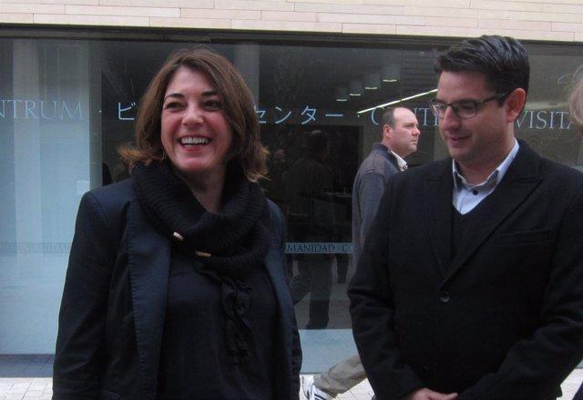 Elena Cortés y Pedro García