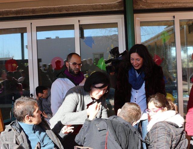 Dolores López Gabarro visita Salteras