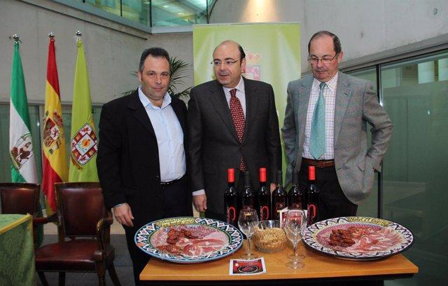 Presentación de las Jornadas del Vino, Jamón y Chacinas de Huétor Vega