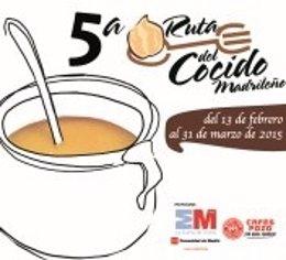 Cartel V Ruta del Cocido Madrileño