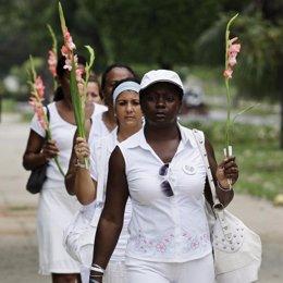 Damas De Blanco En Cuba