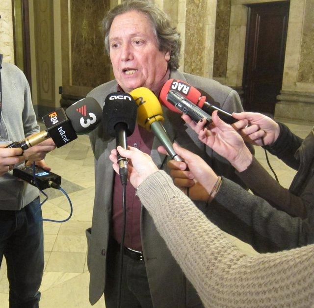 El diputado de ICV-EUiA Jaume Bosch