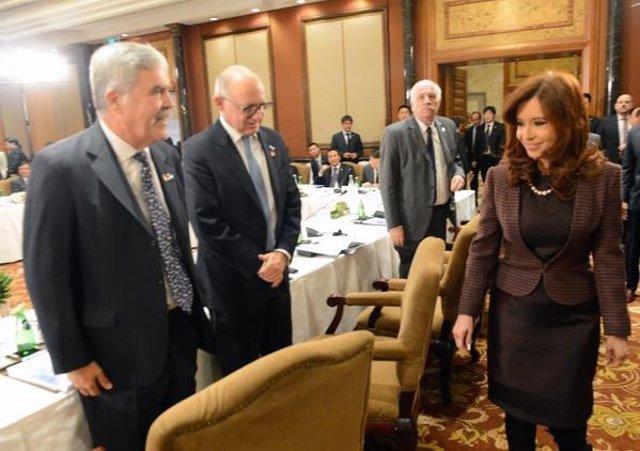 La presidenta argentina, Cristina Fernández de Kirchner.