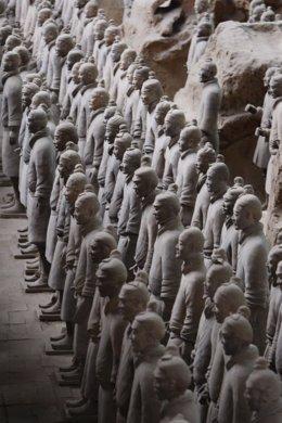 Guerreros de terracota de Xian Xiam Xi'an