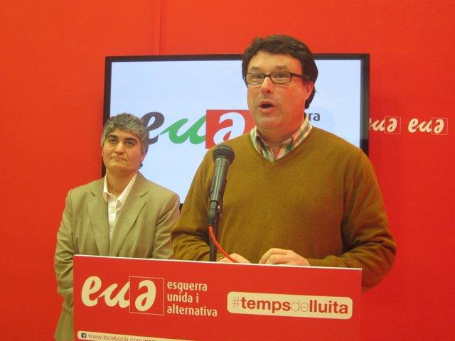 Joan Josep Nuet y Núria Lozano