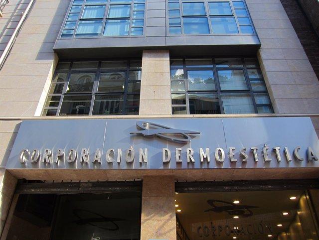 Sede de Corporación Dermoestética, en Valencia.