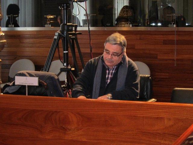 Pedro Catillejo, declarando en la Comisión.