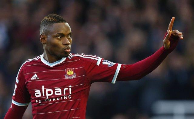 Diafra Sakho, jugador del West Ham United