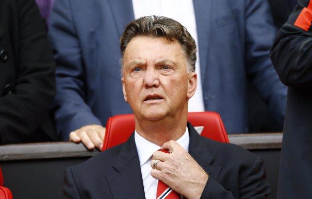 Van Gaal, entrenador del Manchester United