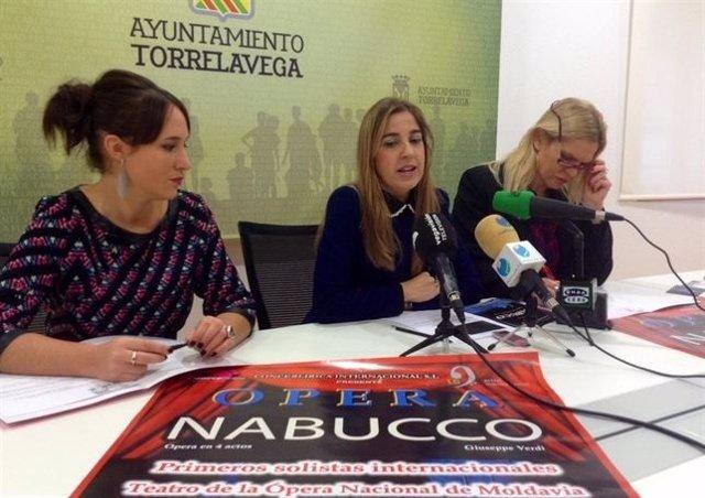 Presentación de la ópera Nabuco
