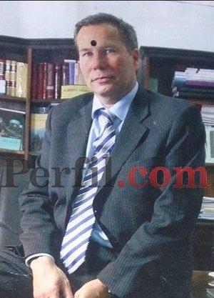 Nisman aparece marcado con un punto