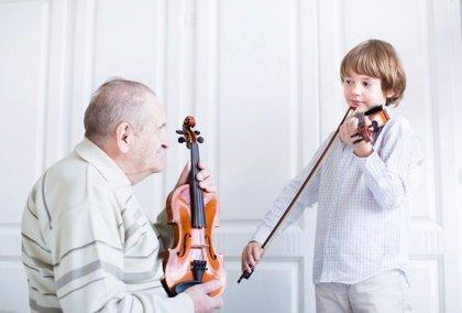 La música en los niños mejora el oído