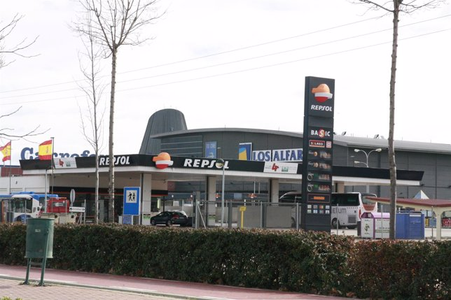 Repsol, Gasolinera