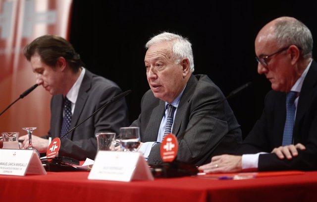 José Manuel García-Margallo en la presentación de Vanguardia Dossier