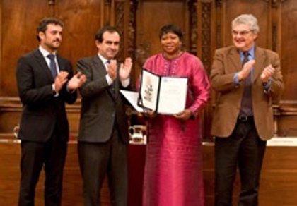 La fiscal del Tribunal Penal Internacional , XXXV Premio por la Paz