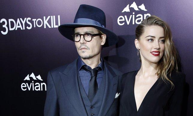 Johnny Depp y Amber Heard se casan en Los Ángeles