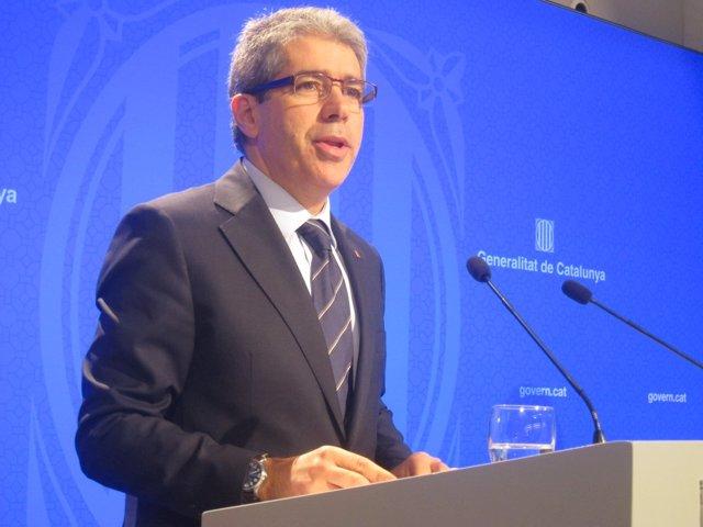 Francesc Homs, conseller y portavoz de la Generalitat