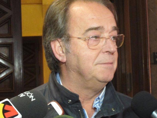 Carlos Pérez Anadón este jueves en el Ayuntamiento