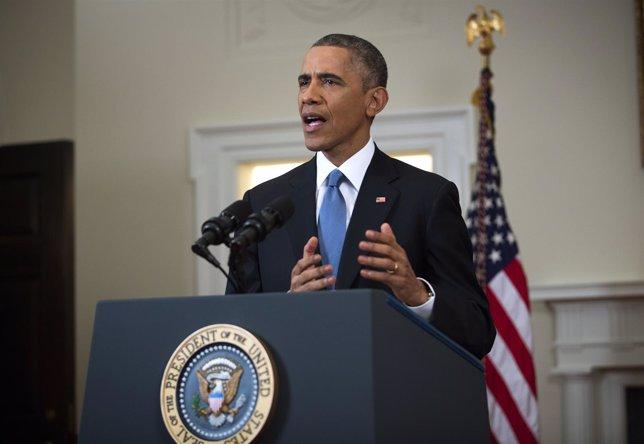 Barack Obama anuncia cambio de relaciones con Cuba.