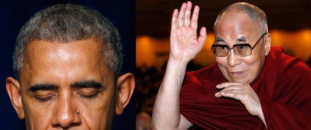Obama y Dalai Lama en Desayuno Nacional de Oración