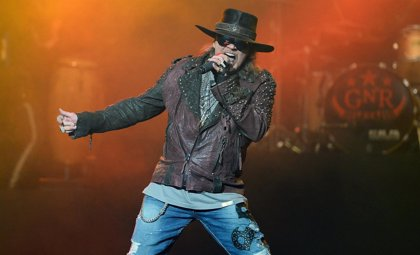 Axl Rose en 5 canciones