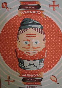 El cartel del Carnaval de Logroño 2015